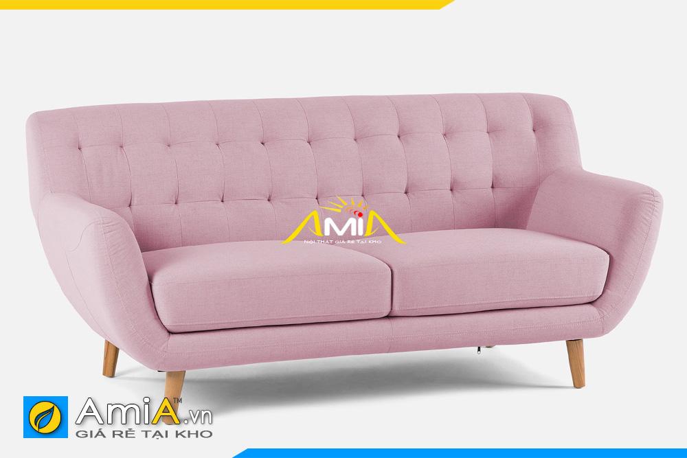 ghế sofa nhỏ màu hồng phai AmiA 20119