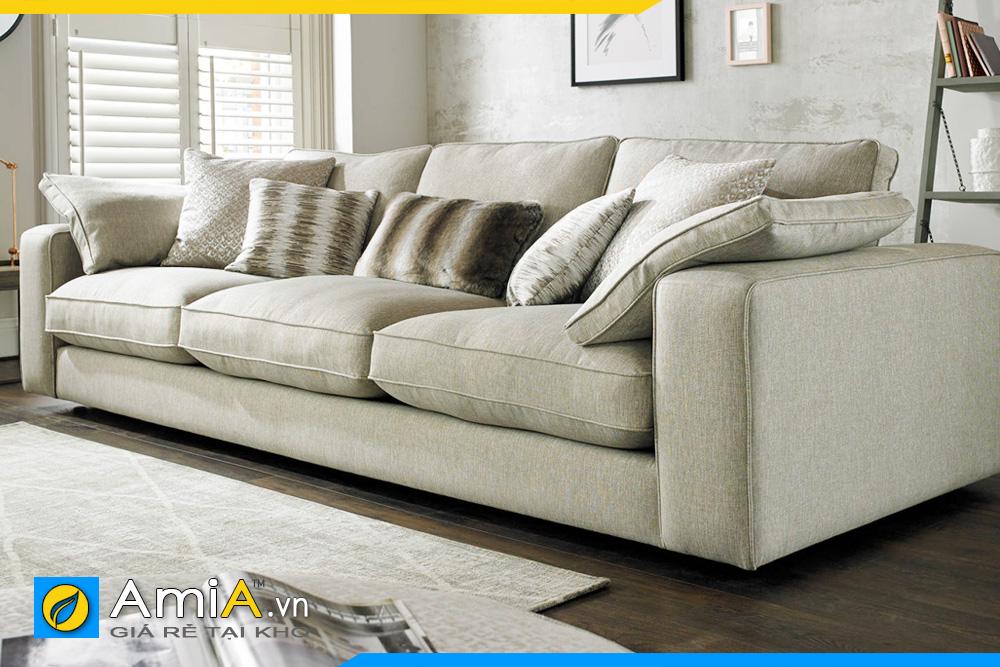 sofa thấp chiều cao kê phòng khách