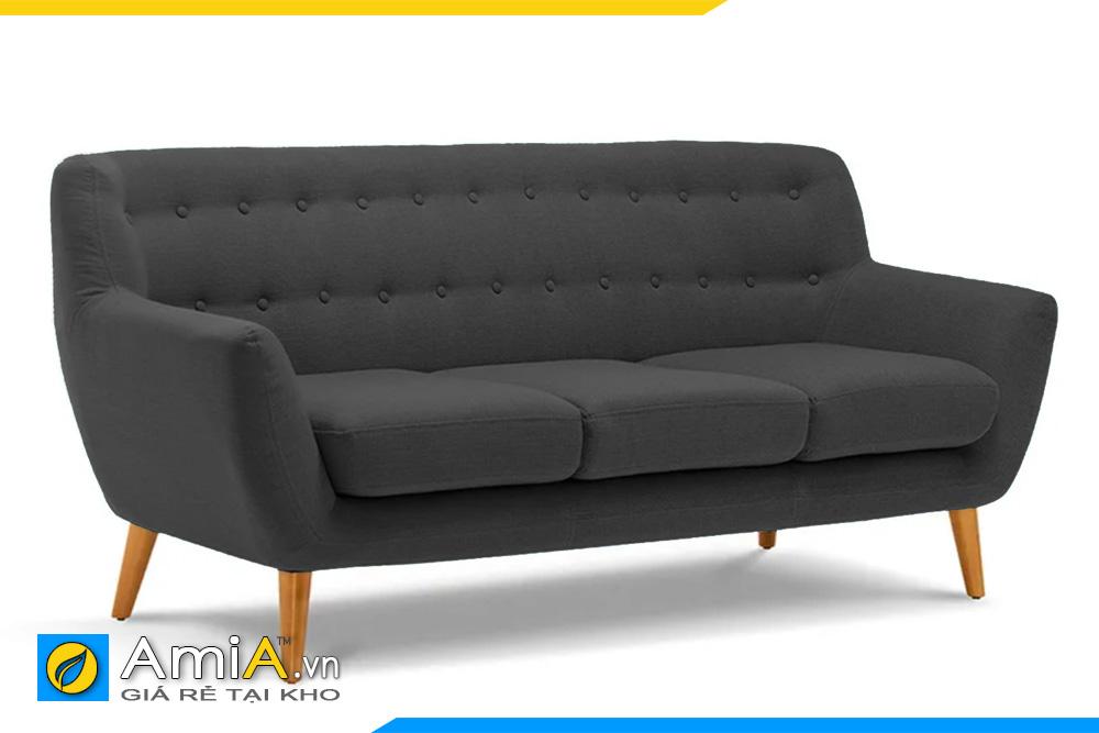 ghế sofa văng đẹp màu ghi sẫm