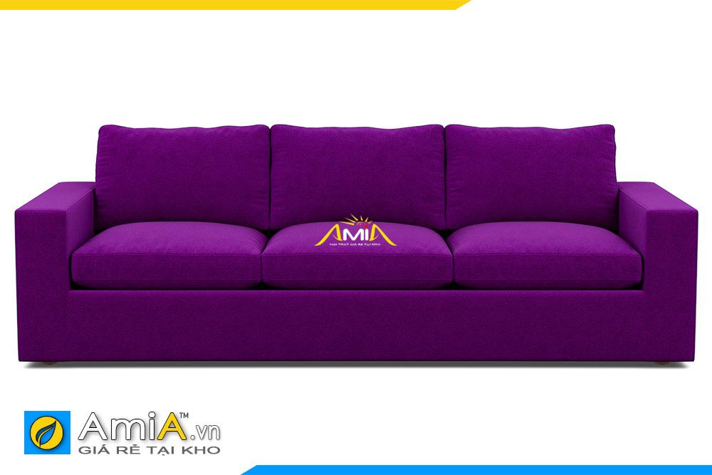 ghế sofa văng nỉ màu tím