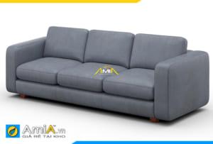 sofa văng da 3 chỗ đẹp giá rẻ AmiA 20222