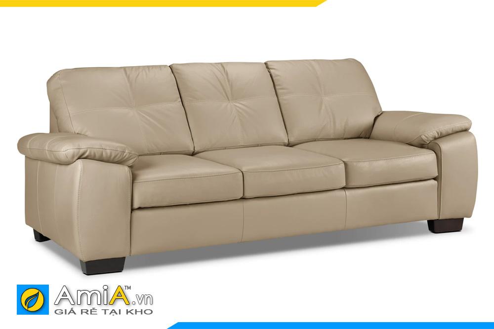 Ghế sofa da đẹp nhất AmiA 20105