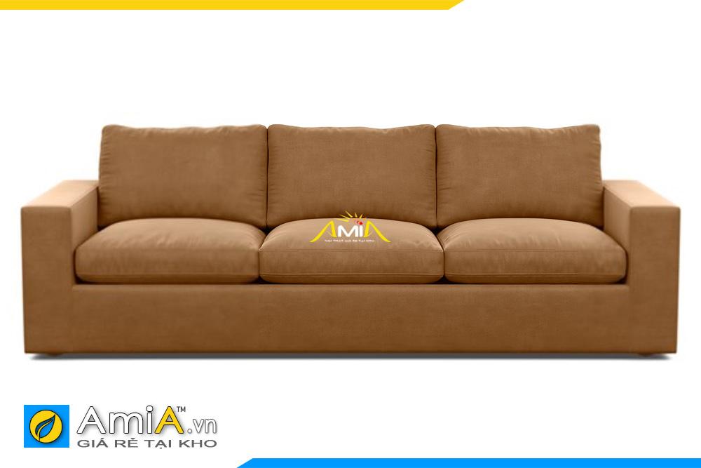 ghế sofa đẹp màu nâu da bò