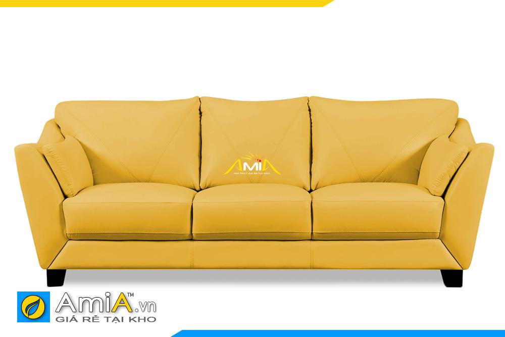 ghế sofa da đẹp dạng văng AmiA 20109