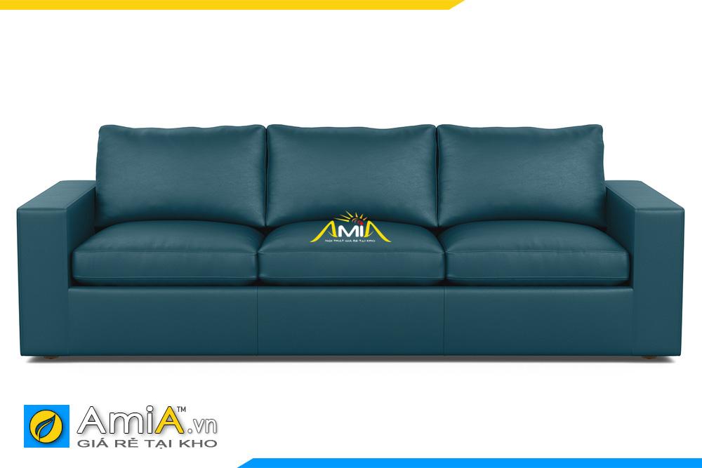 ghế sofa văng da đẹp AmiA 20125
