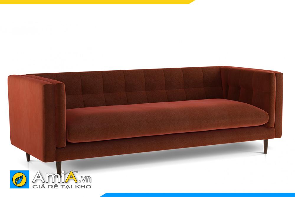 ghế sofa văng đẹp màu nâu AmiA 20100