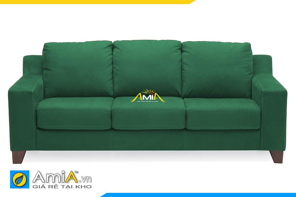 ghế sofa đẹp màu xanh lục