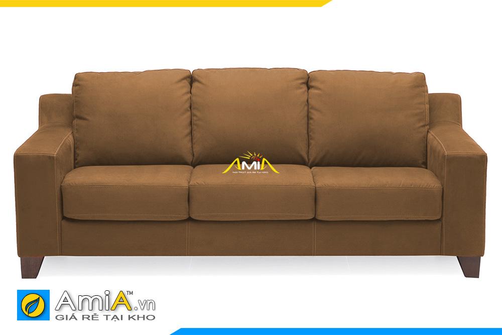 ghế sofa màu nâu vàng đẹp AmiA 20229