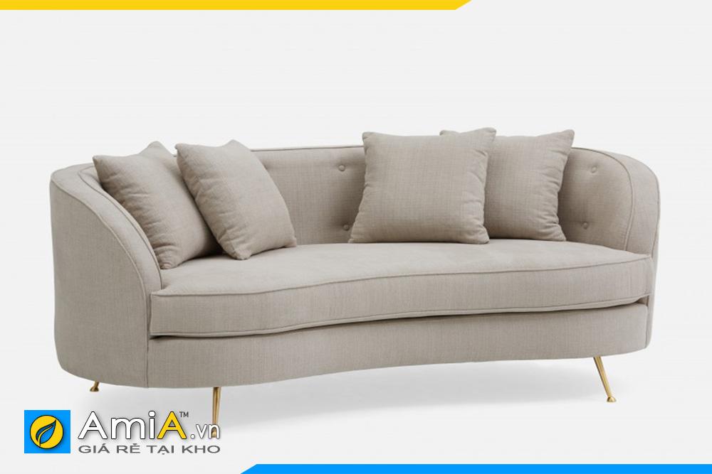 sofa văng dáng tròn đẹp AmiA 20120
