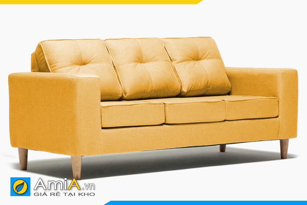 ghế sofa văng màu vàng AmiA 20161