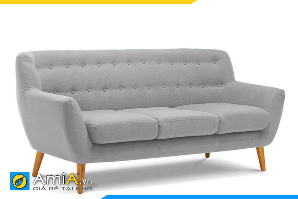 ghế sofa văng nỉ màu ghi đẹp