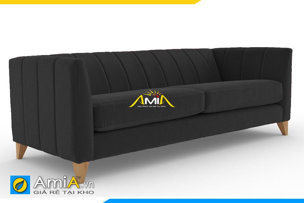 ghế sofa văng đẹp màu đen
