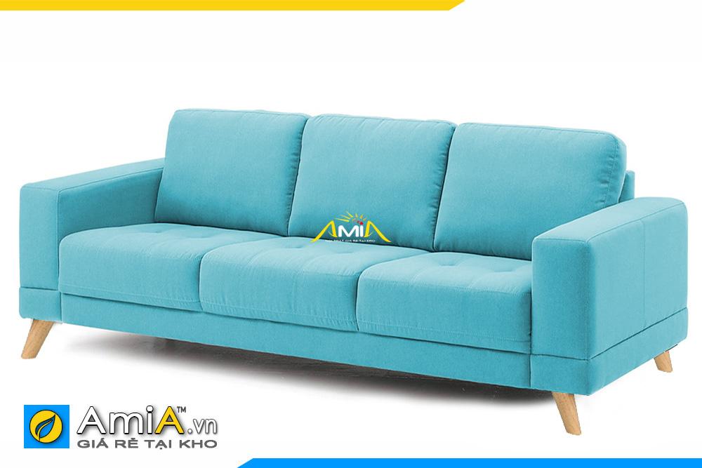 ghế sofa nỉ màu xanh lam đẹp