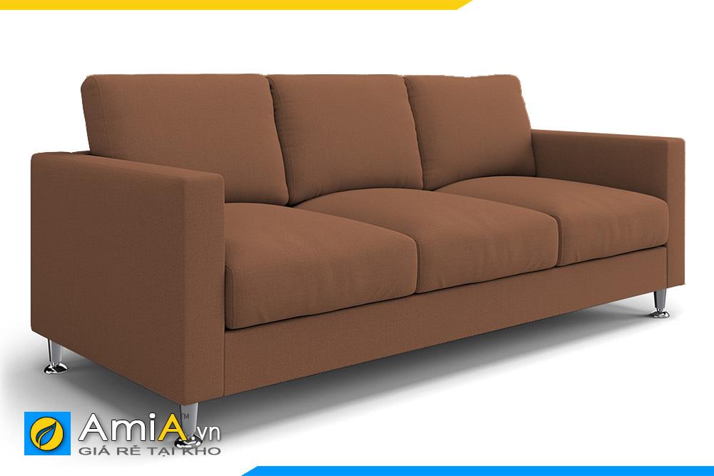 sofa văng nỉ đẹp màu nâu