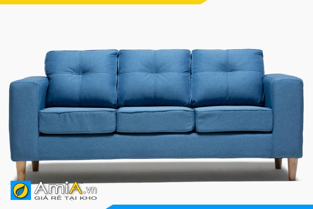 sofa đẹp màu xanh dương