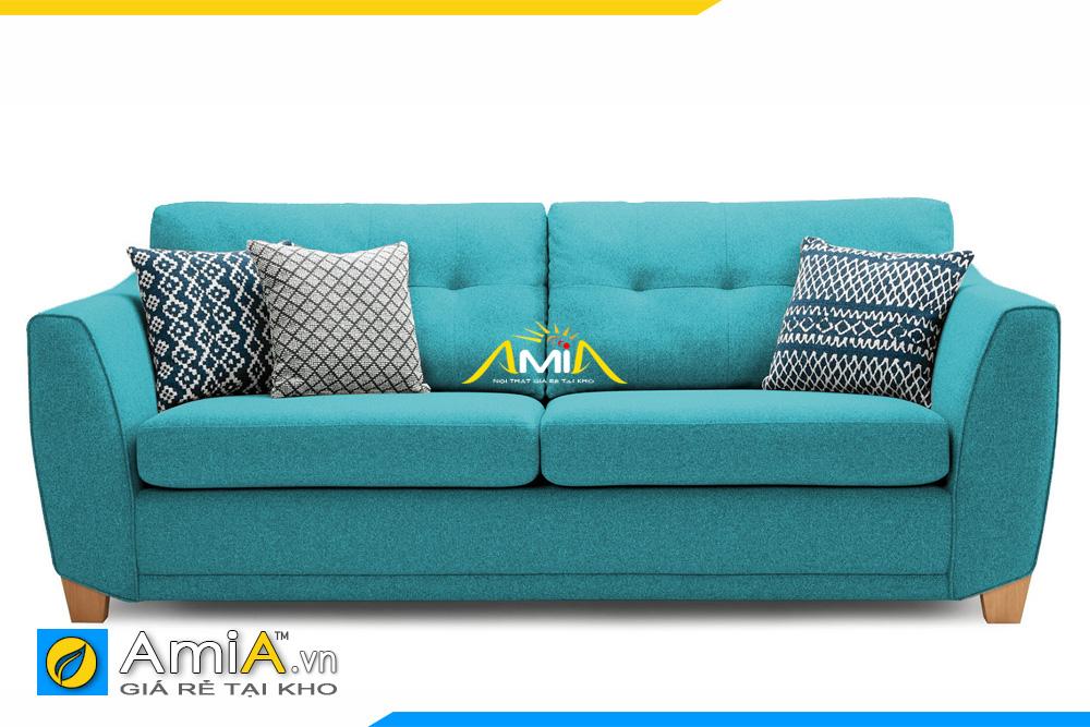 sofa màu xanh lam kích thước nhỏ