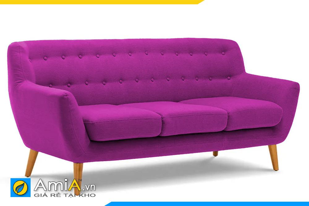 sofa văng đẹp màu tím