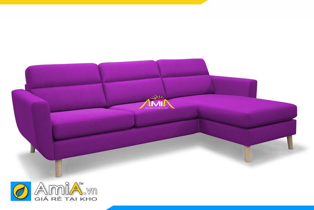 ghế sopha đẹp màu tím AmiA 20219