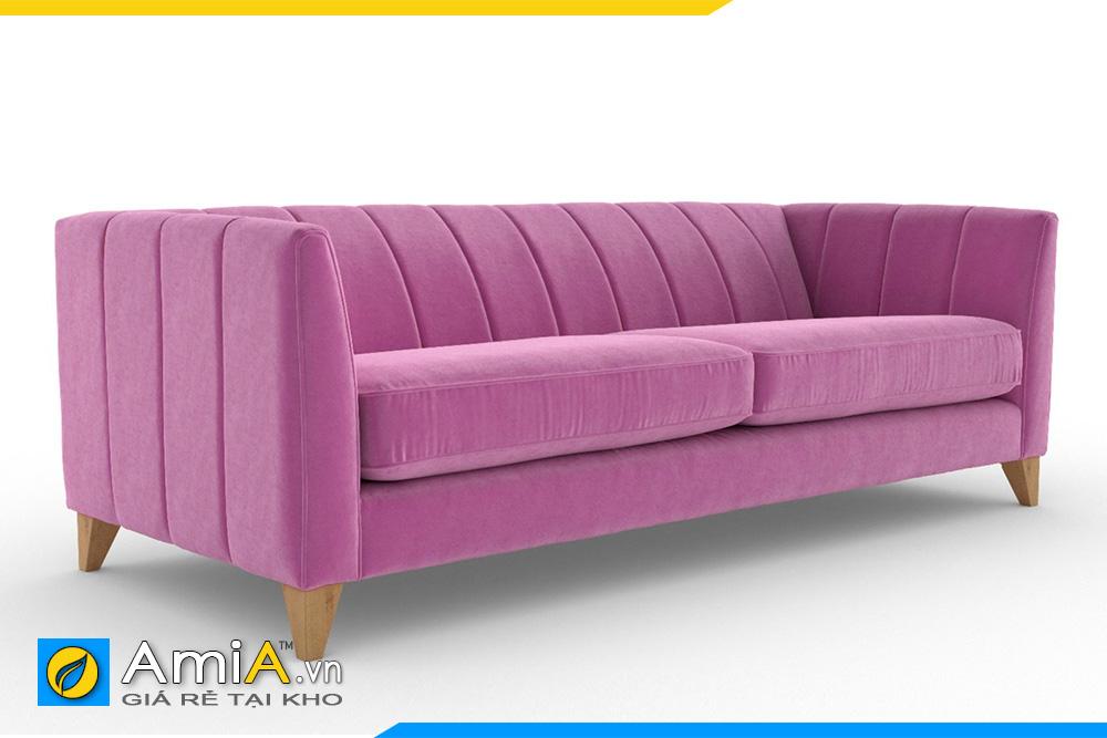 Sofa đẹp màu tím 2 chỗ ngồi