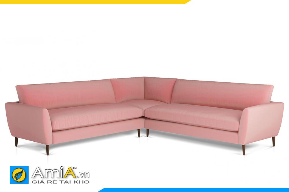 Hình ảnh mẫu sopha màu hồng