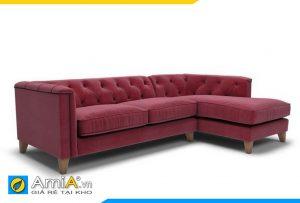 hình ảnh sofa màu đỏ tân cổ điển