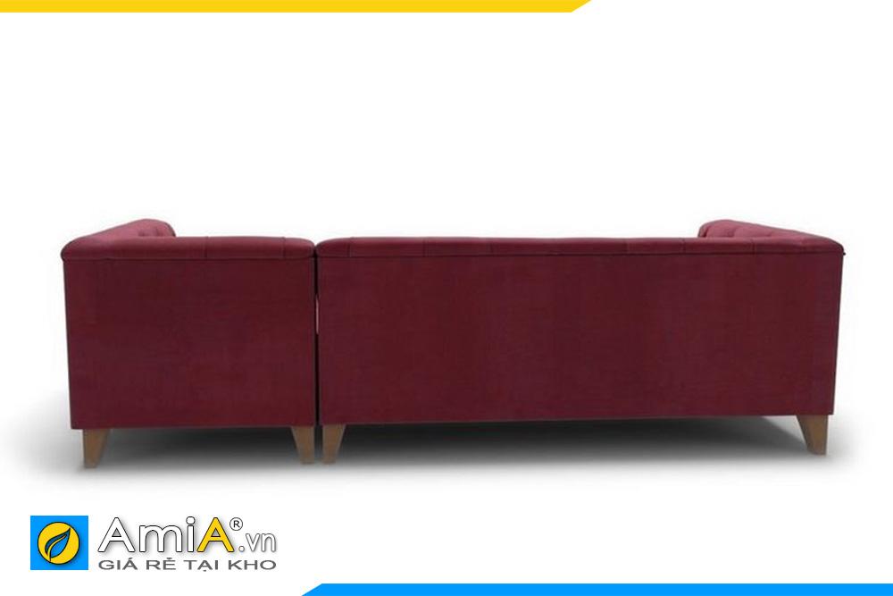 hình ảnh mặt sau của ghế sofa AmiA 20011