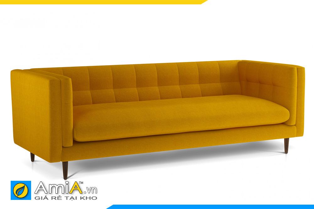 ghế sofa văng màu vàng sang trọng