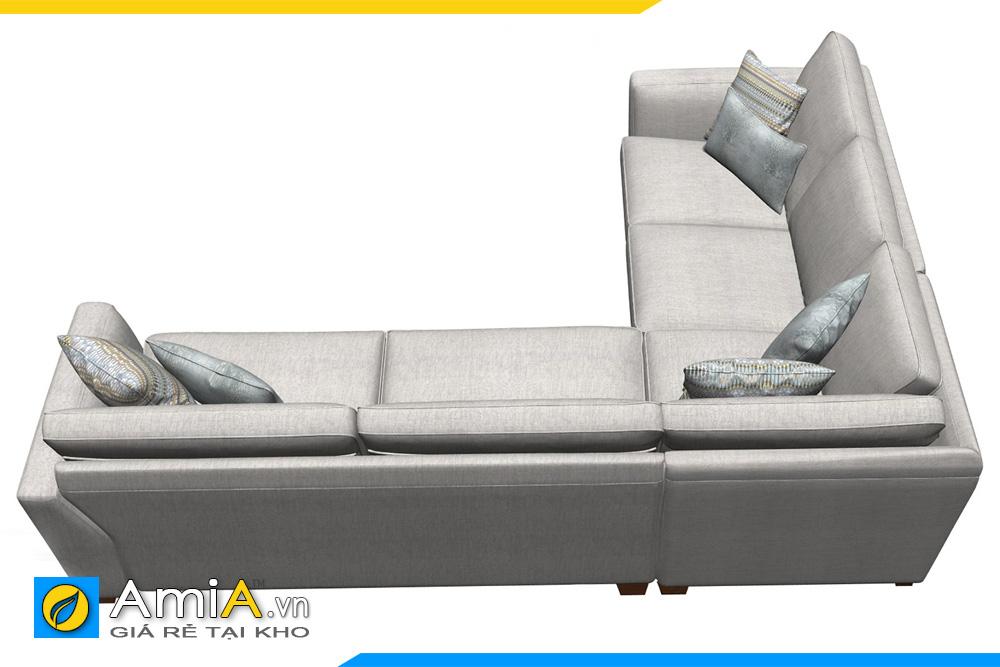 sofa phòng khách kiểu góc