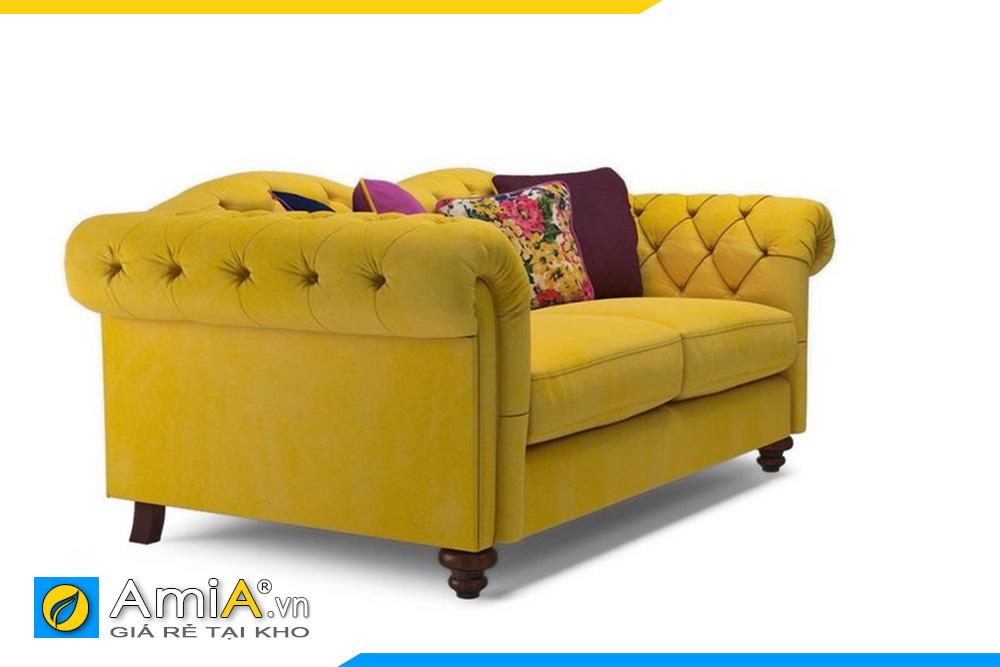 Sofa tân cổ điển dạng văng AmiA 20007