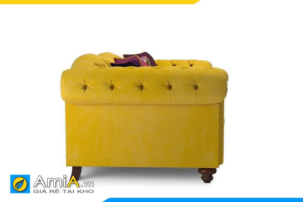 Hình ảnh mặt bên ghế sofa