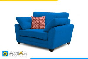 sofa 1 chỗ ngồi màu xanh dương