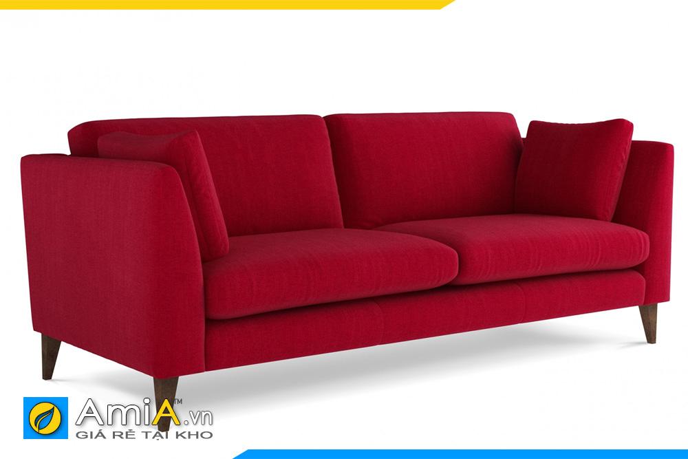 người có mệnh hỏa hợp sofa màu đỏ