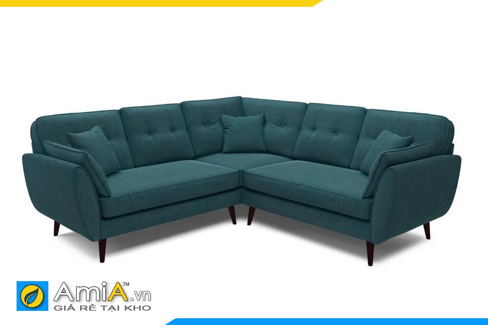 Mẫu ghế sofa góc chữ V đẹp AmiA 20019