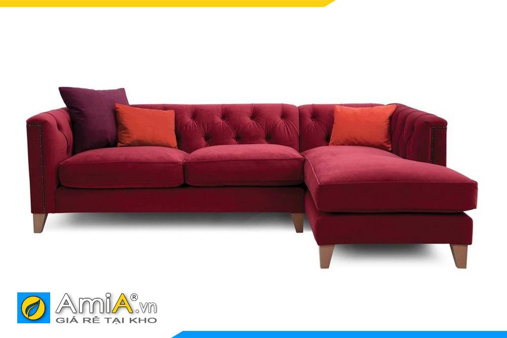 Hình ảnh mặt trước ghế sofa AmiA 20011