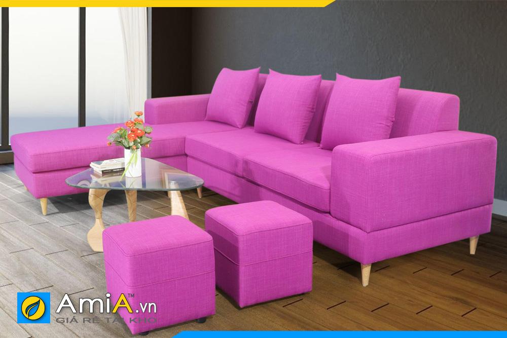 Mẫu ghế sofa màu tím đẹp nhất