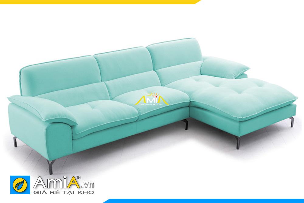 sofa góc nhỏ xinh giá rẻ AmiA 20223
