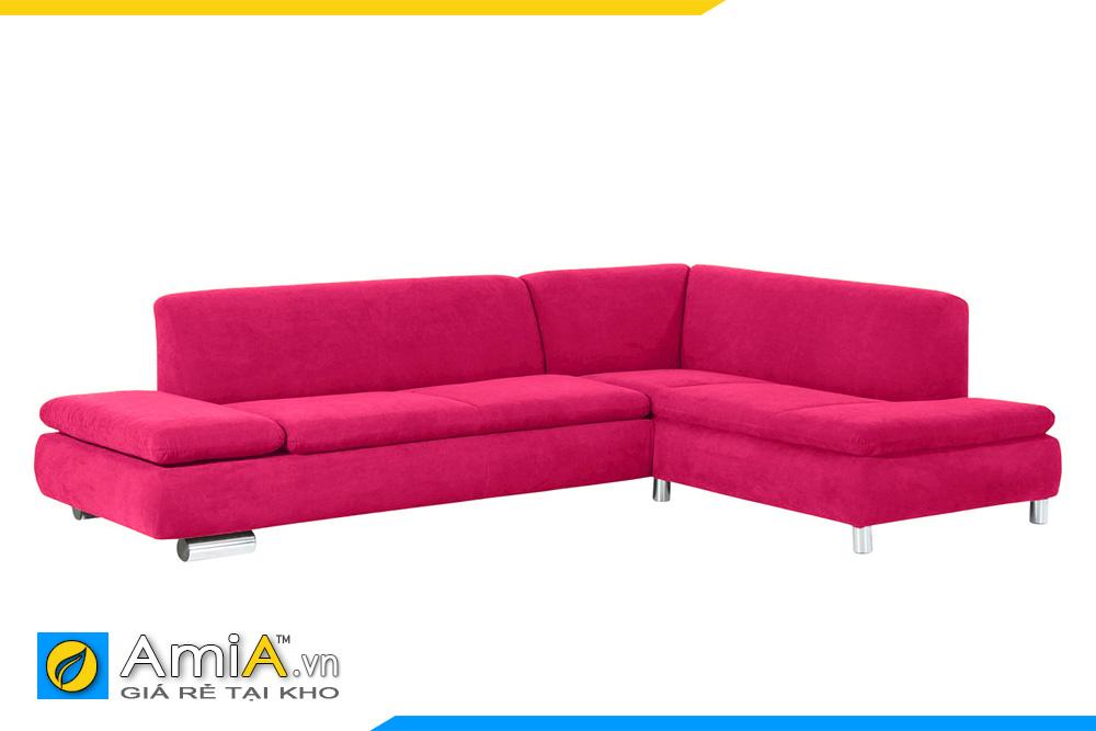 màu nỉ vải sofa hồng đậm