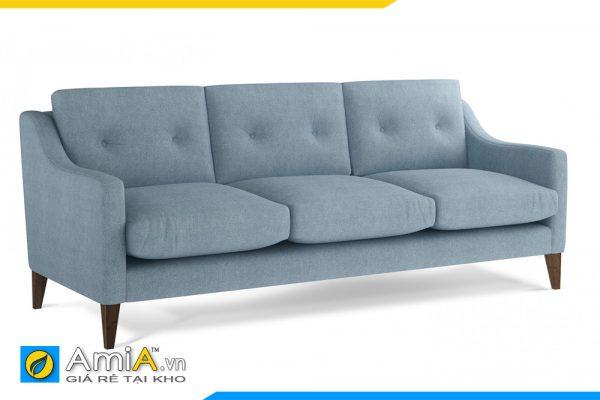 sofa nỉ đẹp màu ghi xanh