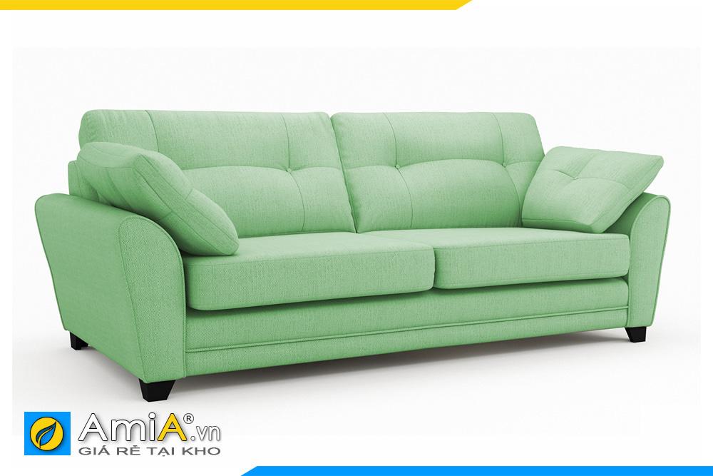 ghế sofa màu xanh kích thước nhỏ