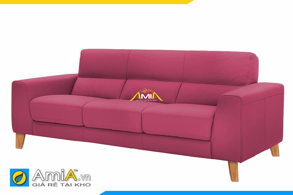 ghế sofa phòng làm việc màu đỏ