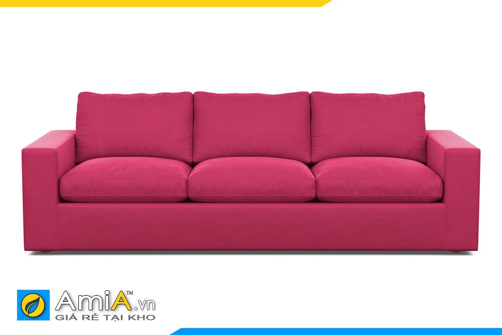 sofa văng nỉ 3 chỗ ngồi đẹp