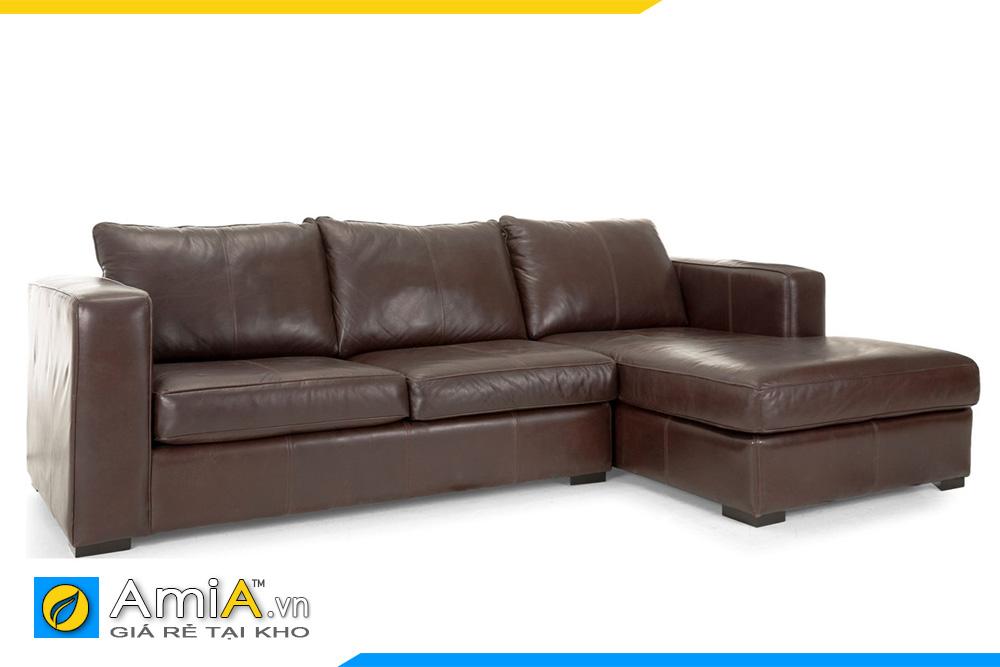 ghế sofa phòng khách màu nâu đất