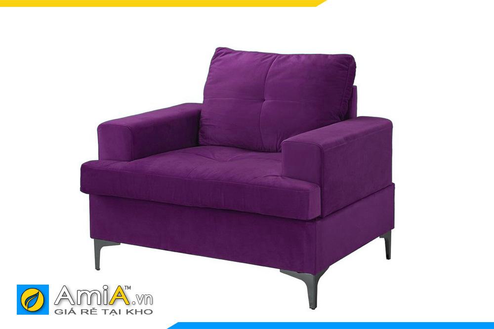 Sofa mini màu tím