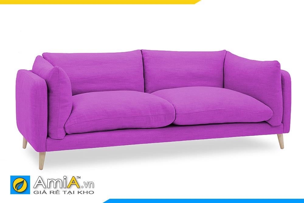 gam màu tím của ghế sofa nhỏ