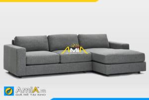 Ghế sofa nỉ đẹp giá rẻ AmiA 20118