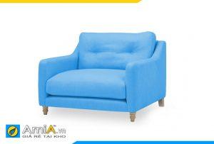 ghế sofa đơn đẹp màu xanh AmiA 20074