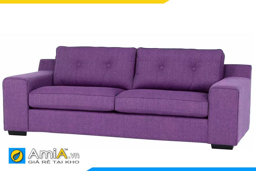 Mẫu ghế sofa văn phòng màu tím