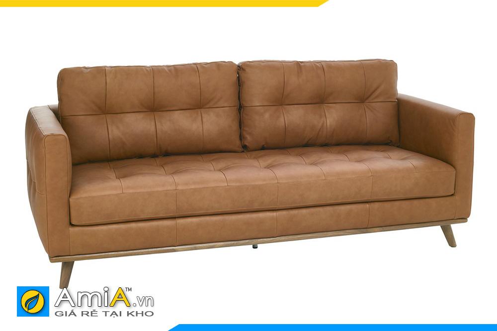 ghế sofa giá rẻ bọc da