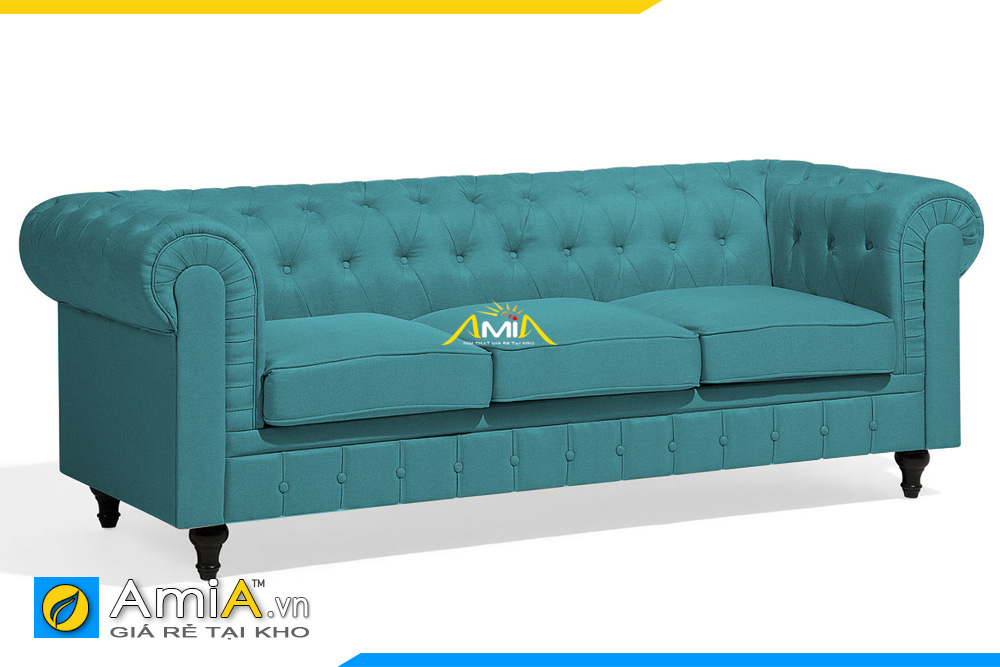 ghế sofa văng nỉ tân cổ điển