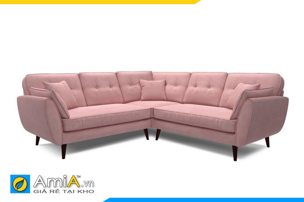 ghế sofa màu hồng phai